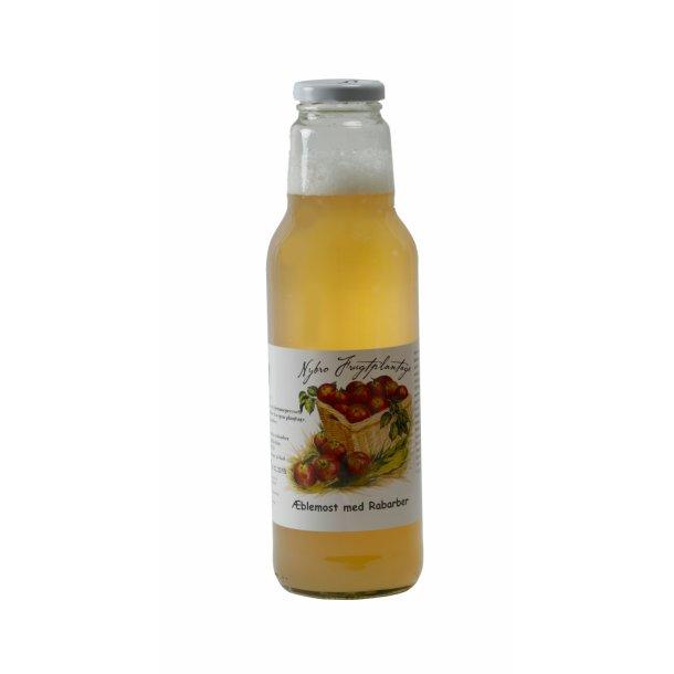 Æblemost m/rabarber